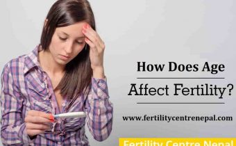 How does age affect women fertility