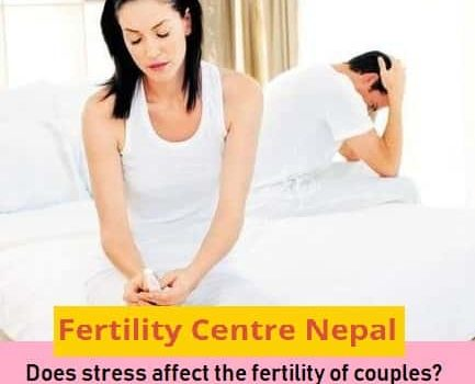 Does stress affect the fertility of couples